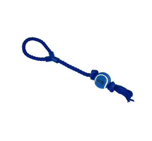 Joguina de corda Nayeco dental amb pilota i nansa 50cm 2