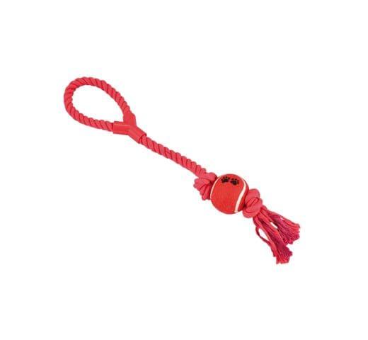 Joguina de corda Nayeco dental amb pilota i nansa 50cm 3