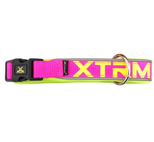 Collar Nayeco x-trm neó flash fúcsia 15mmx28-35cm 1