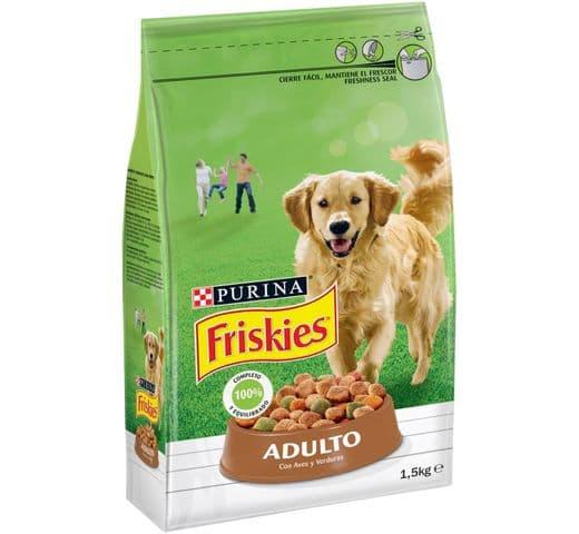 Pinso Friskies Purina gos adult au/verdura 1