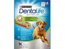 Snack dental Friskies Purina gos gran Dentalife