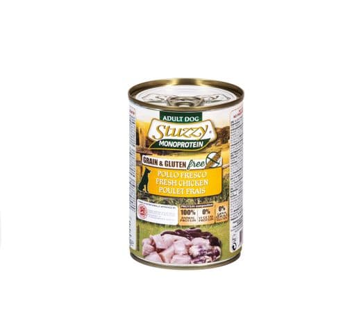 Aliment humit Mr Stuzzy gos pollastre 400gr 1