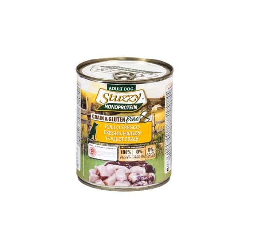 Aliment humit Mr Stuzzy gos pollastre 800gr 1