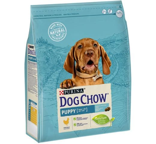 Pinso Dog Chow Purina gos puppy 2,5kg 1