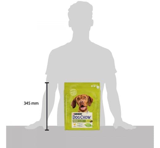 Pinso Dog Chow Purina gos pollastre 2,5kg 2