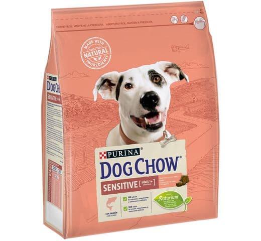 Pinso Dog Chow Purina gos sensitive 2,5kg 1