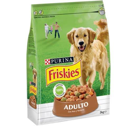 Pinso Friskies Purina gos adult au/verdura 3kg 1