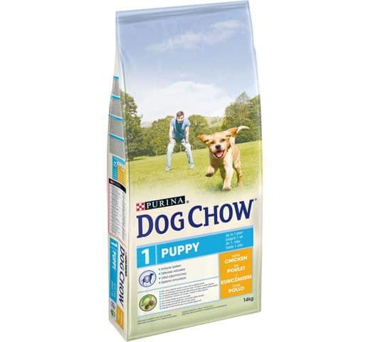 Pinso Dog Chow Purina gos puppy 14kg 1