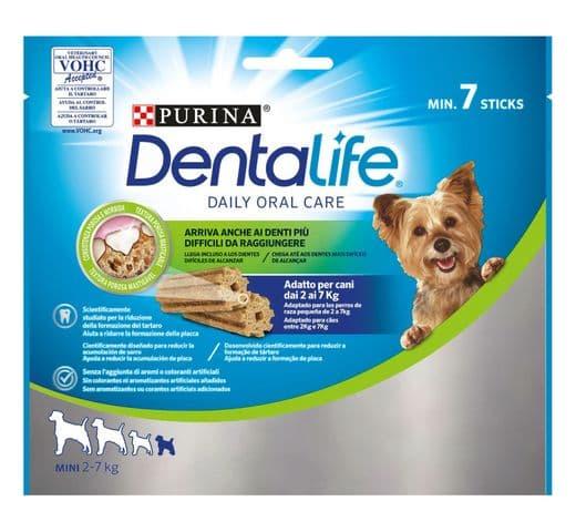 Snack dental Friskies Purina gos mini Dentalife 69gr (7un) 1