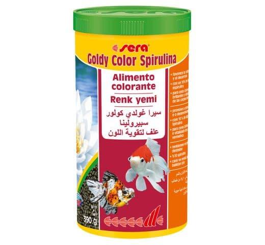Pinso Sera Goldy color spirulina 1000ml 1