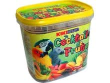 Snack natural Kiki còcktel de fruites lloros 300gr
