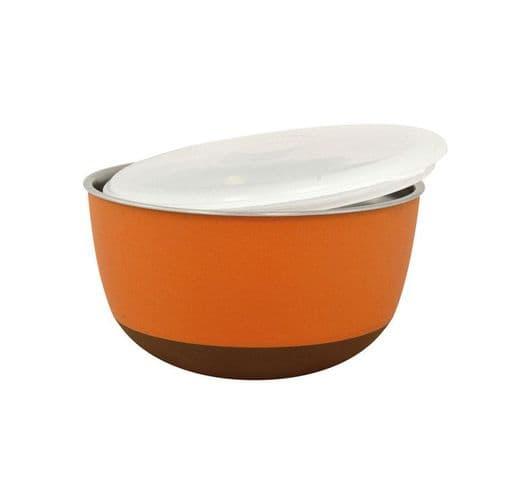Menjadora Duvo acer tapa taronja 21cm 2300ml 1
