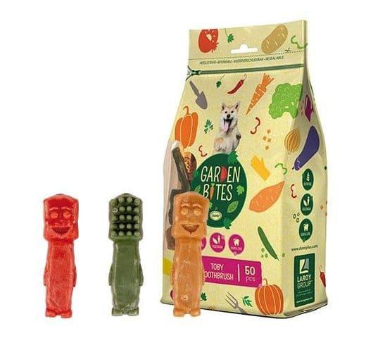Snack dental Duvo green toby toothbrush S (50un) 5cm 500gr 1