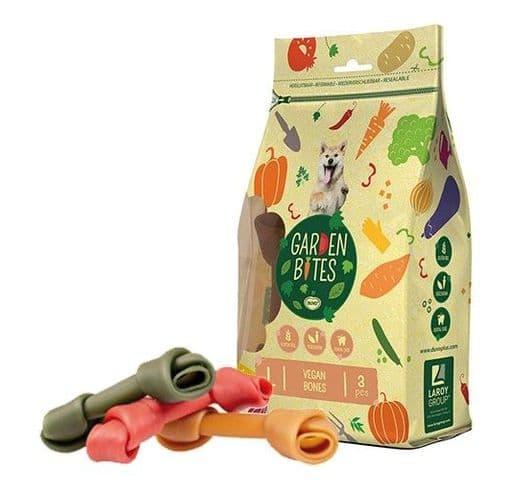 Snack dental Duvo green vegan bones L (3un) 14.5cm 270gr 1