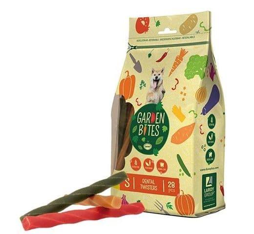 Snack dental Duvo green twisters S (28un) 13cm 420gr 1