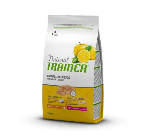Pinso Natural Trainer gos puppy mini 2kg 1