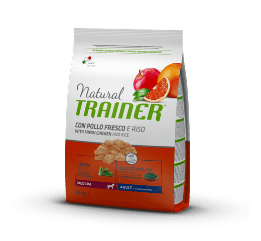 Pinso Natural Trainer gos medium pollastre 1