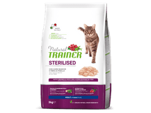Pinso Natural Trainer gat sterilized carn blanca