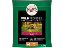 Pinso Nutro gos wild frontier puppy gall dindi pollastre 1,5kg
