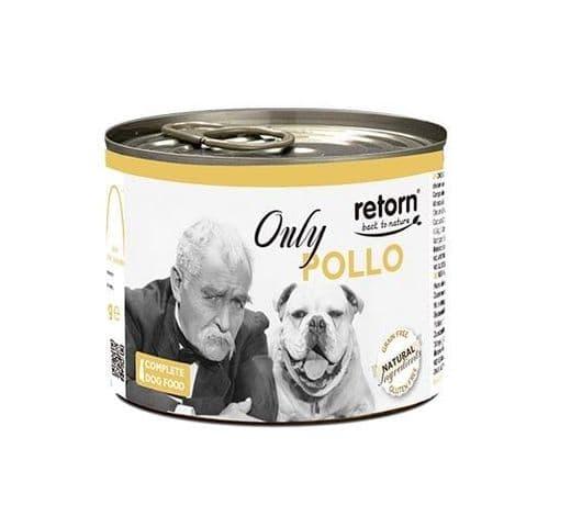 Aliment humit Retorn gos llauna només pollastre 400gr 1