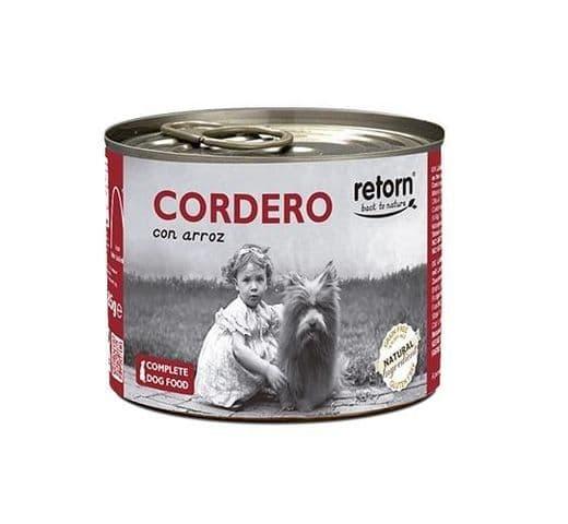 Aliment humit Retorn gos llauna xai i arròs 400gr 1