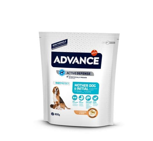 Pinso Advance Affinity gos cadell initial puppy & mother 1