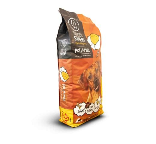 Pinso Animal Sapiens gos adult pollastre 15+5kg 2