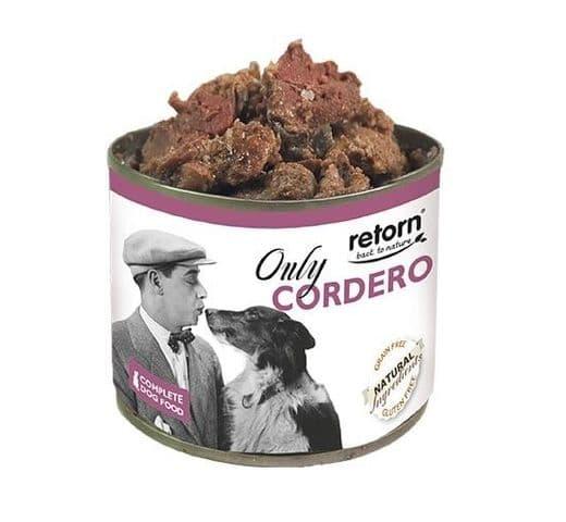 Aliment humit Retorn gos llauna només xai 1