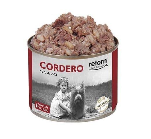 Aliment humit Retorn gos llauna xai i arròs 1