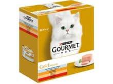 Aliment humit Gourmet gat gold caixa mousse