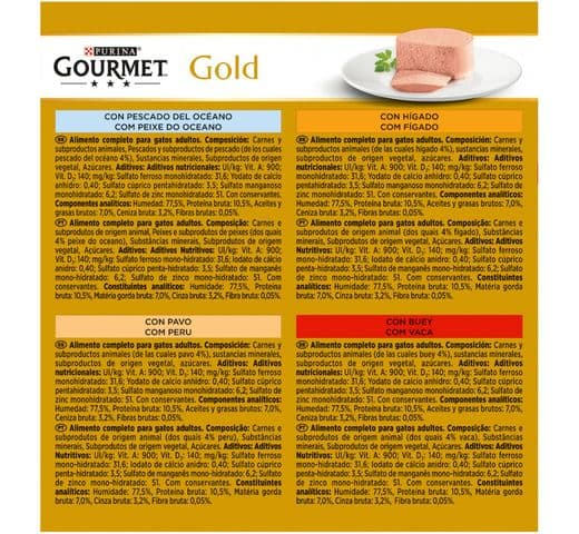 Aliment humit Gourmet Purina gat gold caixa mousse 2
