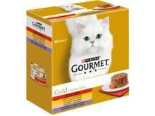 Aliment humit Gourmet Purina gat gold caixa 8 tartelette
