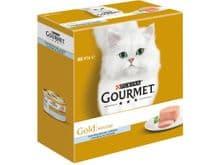 Aliment humit Gourmet gat gold mousse peix